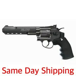"Gamo 611139654 Black PR-776 Pellet .177 CO2 Revolver 6"" Barrel Airgun Air Pistol"