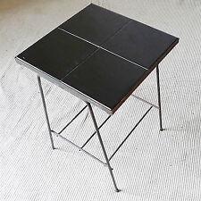 table basse céramique vintage années 50 design 1950 métal carreau era guariche
