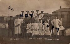 WW1 Soldier Group No 6 Section School of Cookery Colchester various regiments