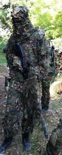 Jungle Leafy 3D Fast Dry Realtree Camo Ghillie Suit Jacket and Trousers