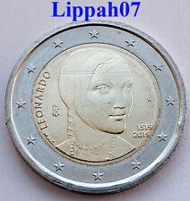 Italië speciale 2 euro 2019 Leonardo da Vinci UNC