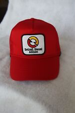 HAT DETROIT DIESEL ALLISON  COLOR BRIGHT RED ADJUSTABLE SNAP BACK