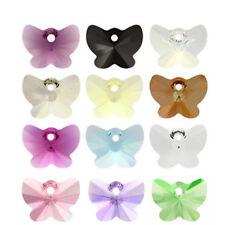 Original Swarovski Elements 6754 Mariposa 18 mm hágalo usted mismo Joyas Perlas 14 Colores