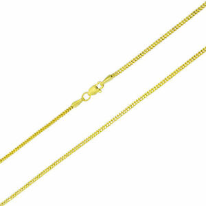 """10K Yellow Gold 1.5mm Foxtail Wheat Franco Box Pendant Chain Necklace 16""""- 30"""""""