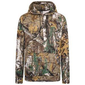 Mens Camouflage Hoodie JUNGLE PRINT Combat Hoody Hunting Sweat Shirt Hooded Top