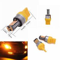2 Pcs Car 7443 7440 45-SMD Amber Color LED Bulbs for Turn Signal / Parking Light