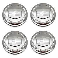 SET 4- OEM 05-14 Cadillac Escalade 9595759 9595891 CHROME Hubcap Center Cap