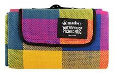 Folding Blanket Camping Outdoor Beach Festival Waterproof Backing Picnic Rug Mat