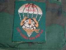 VIETNAM VIETNAMESE SPECIAL OPS LLDB Tony the Tiger Patch THEATER MADE