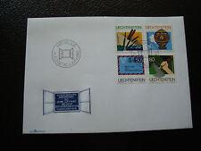 LIECHTENSTEIN - enveloppe 1er jour 6/6/1983 timbre yt n° 765 a 768 (cy35) stamp