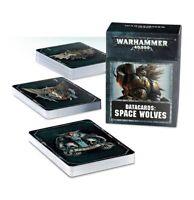 Warhammer 40k Space Wolves Datacards NIB