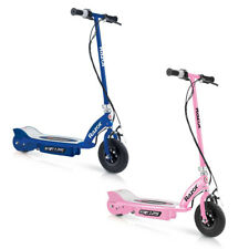 Razor E125 Motorized Rechargeable Kids Youth Electric Scooters, 1 Pink & 1 Blue