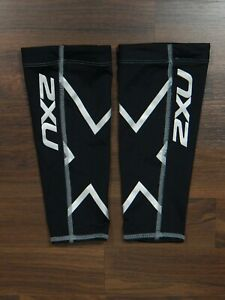 2XU Compression unisex black calf guards size S