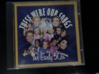 Various Artists-These were Our Songs The Early 50's 6 CD SET