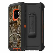 OtterBox DEFENDER Case for Samsung Galaxy S9 -BLAZE ORANGE/BLACK/RT EDGE GRAPHIC