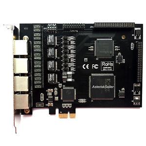 TE420 Asterisk Card 4 Port E1 T1 Card ISDN PRI,Freepbx Issabel IP Phone System
