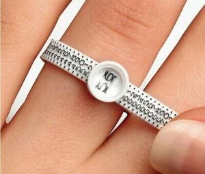Ringschablone Ringgrößenmesser Ringmaßband  Multisizer Ringmaß + 10% Gutschein,
