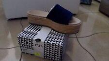 scarpe donna  Tata mis 40 con zeppa blu