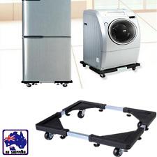 Movable Base Bracket Stand For Washing Machine Refrigerator Wheels HWFR57105