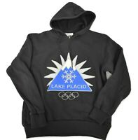 Olympic Museum Collection Mens Lake Placid, New York 1980 Hoodie New S, M, L, XL