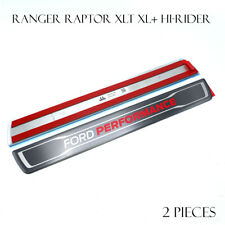 For Ford Ranger MC XLT XL Hi-Rider 12 19 Genuine Scuff Plate Stainless Front L+R