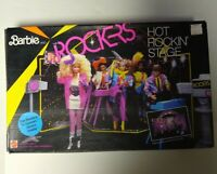 Vintage! 1985 Barbie and the Rockers Hot Rockin Stage Playset COMPLETE 1144