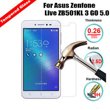 Real Tempered Glass LCD Screen Protector For Asus Zenfone Live ZB501KL 3 GO 5.0