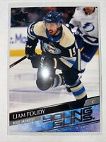2020-21 Upper Deck Hockey Young Guns LIAM FOUDY COLUMBUS BLUE JACKETS #224