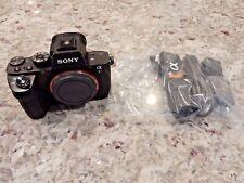 Sony Alpha a7R II 42.4MP Digital Camera - Black (Body Only) ILCE7RM2/B (#F443)