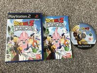 DRAGON BALL Z INFINITE WORLD SONY PLAYSTATION 2 PS2 GAME WITH MANUAL UK PAL VGC