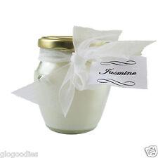 7cm Diameter Jar Scented Candle - Jasmine
