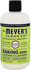 Mrs Meyers Clean Day Baking Soda Cream Cleaner, Lemon Verbena 12 oz (Pack of 9)