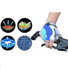 Men's Half Finger/Fingerless Bike Gloves For Mountain/Road Bike 4 Sizes Optional