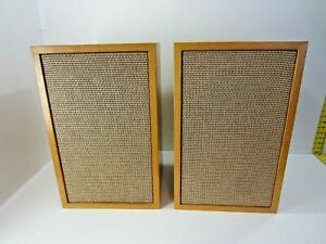 Vintage Empty Wood Floor Speaker Cabinet Enclosures Hand Built