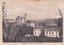 CAVAGNOLO - Chiesa Parrocchiale e Scuole 1942