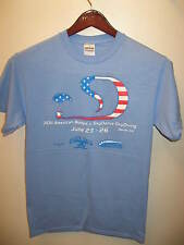 SkyDance SkyDiving Davis CA June 2011 American Boogie Parachute T Shirt Sm NWOT