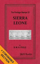 THE POSTAGE STAMPS OF SIERRA LEONE Forgeries Provisionals West Africa - CD