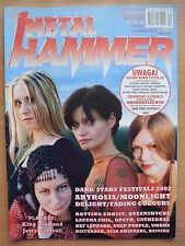 METAL HAMMER 10/2002 Artrosis,Moonlight,Cathedral,Lacuna Coil,Def Leppard,Opeth