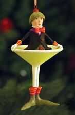 Patience Brewster MINI OLIVER MARTINI ornament KRINKLES NIB CUTE! NEW for 2013