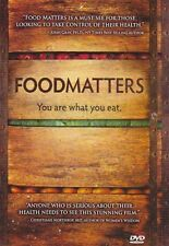 FOODMATTERS DVD - weightloss, diet, You are what you eat, documentary