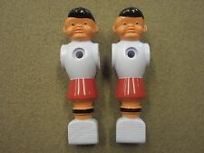 2 Painted Red Foosball Fussball Men w/ FREE Shipping