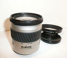 GENUINE MINOLTA 28-80mm F3.5 - 5.6 AF ZOOM LENS with HOOD for SONY & MINOLTA SLR