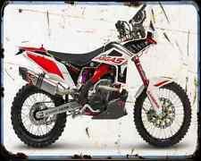 Gas Gas Ec 450 Raid 15 5 A4 Metal Sign Motorbike Vintage Aged