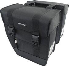 Basil Tour XL Double Bag schwarz 40L Doppelpacktasche Fahrradtasche