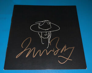 James Bay SIGNED AUTOGRAPH CD Booklet Chaos And The Calm BOOKLET ONLY NO CD