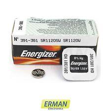 Batteria per orologio Energizer 391 HD 381 LD - SR 55/SR 1120 S/W da 1.55V