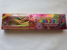 Scoubidous Bänder 15 Meter Fun 6 Farben pearl- glitter Neu