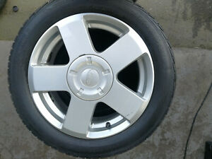 FORD FIESTA 15 INCH ALLOY WHEEL WITH TYRE SPARE OR REPLACE 932