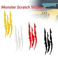 Auto Car Sticker Reflective Scratch Stripe Claw Marks Headlight Decal.