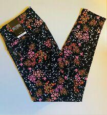 NEW Victoria Secret Floral Print Leggings, MED 7/8